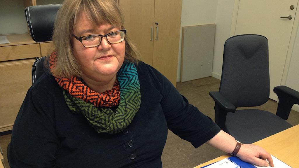Ingela Svensson, kammaråklagare. Foto: Sara Hector/Sveriges Radio