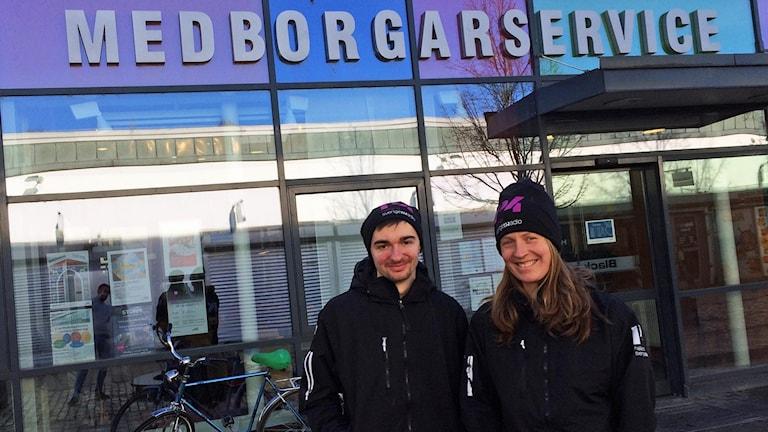 P4 Halland flyttar in på Medborgarservice på Andersberg under en veckas tid.