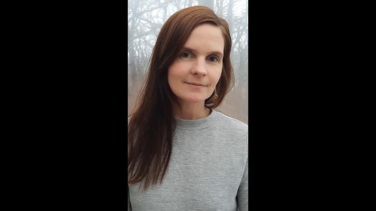 Anna Öst, en av stipendietagarna som under dagen fick 50 000 kronor för att utveckla sitt arbete.
