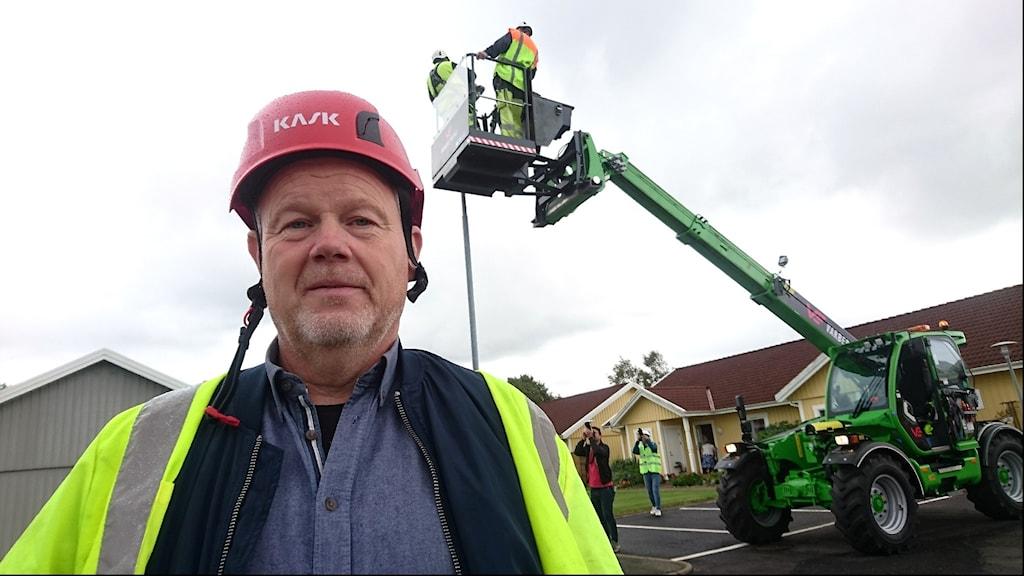 Göran Frankeståhl på marken har hållit i projektet.