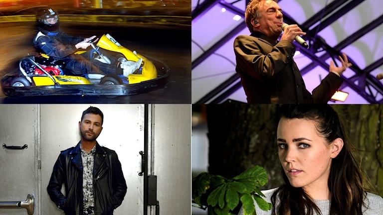 Miriam Bryant, Rikard Wolff, Ola Salo och gokart – här är priserna i P4 Hallands skattjakt.