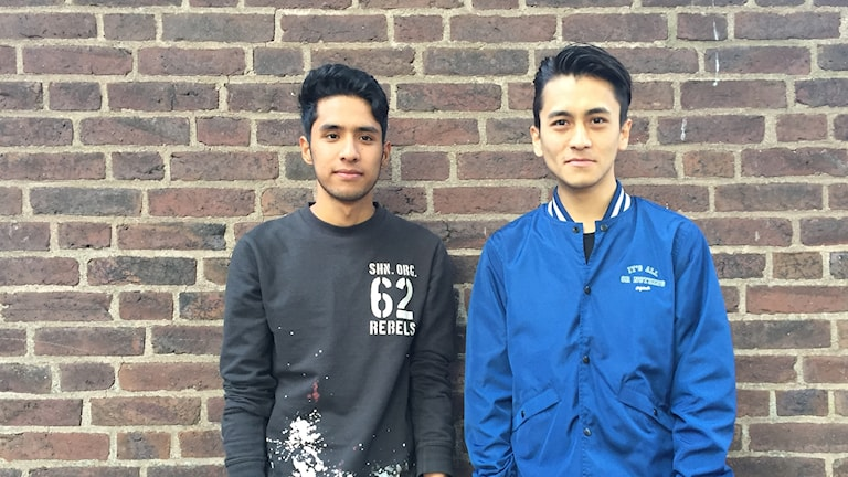 Farhad och Ehsan.