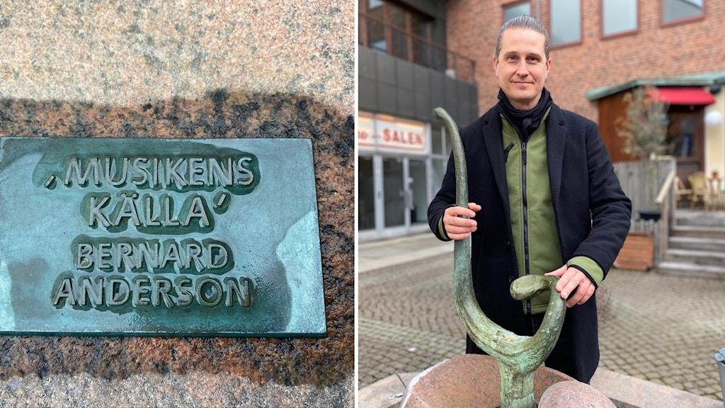 Joacim Eneroth, intendent på kulturförvaltningen i Halmstad kommun.
