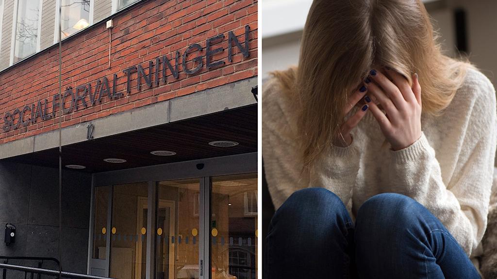 Socialnämnden och Försäkringskassan i Falkenberg svarar på kritiken från Svenska kyrkan.