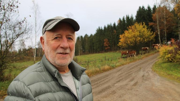 Leif Andersson är frivillig insatsperson i Sibbarp.