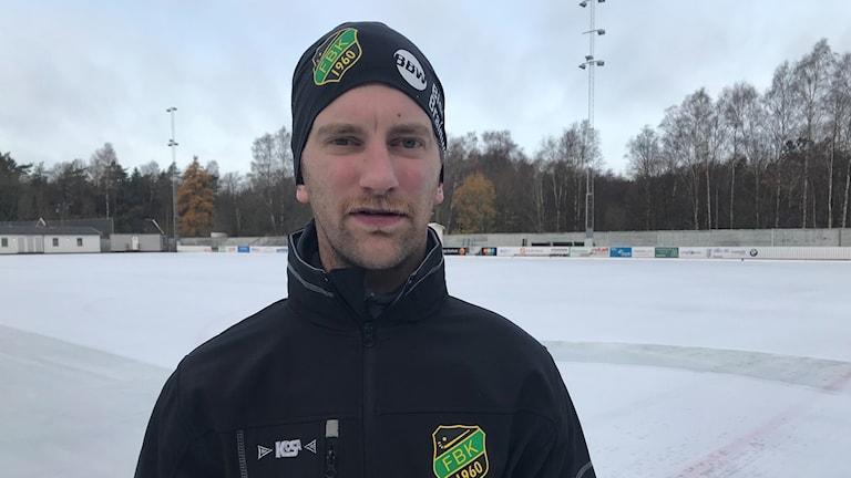 Joakim Björkman, tränare Frillesås BK.