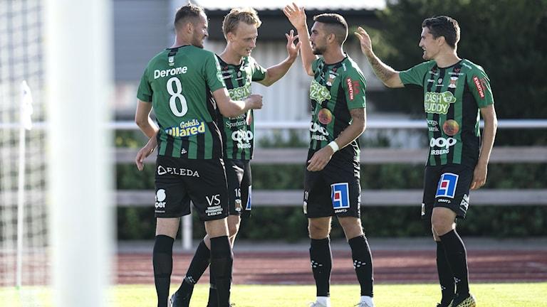 Fyra spelare från Varbergs BoIS.