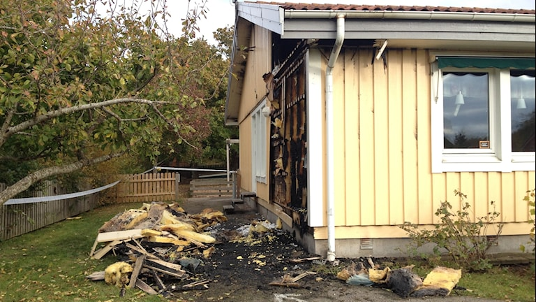 Lerkils förskola, brand