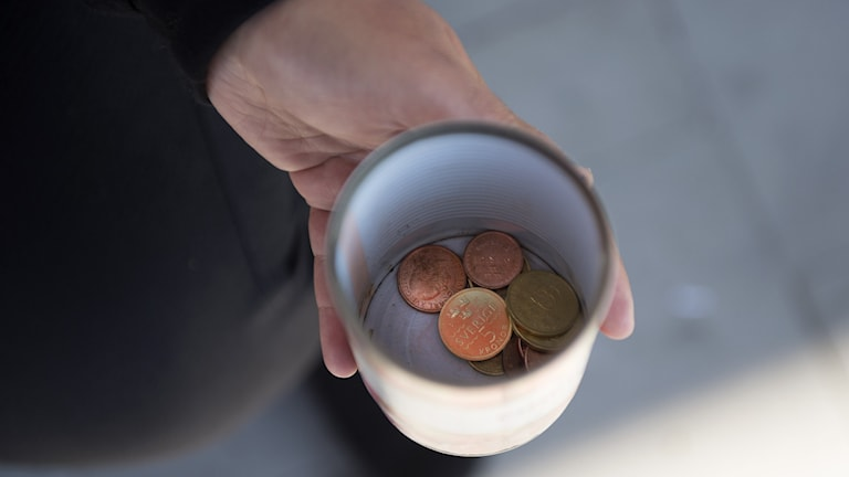 kopp med pengar
