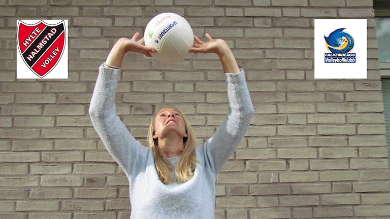 Andrea Jacobsson, P4 Hallands volleybollexpert