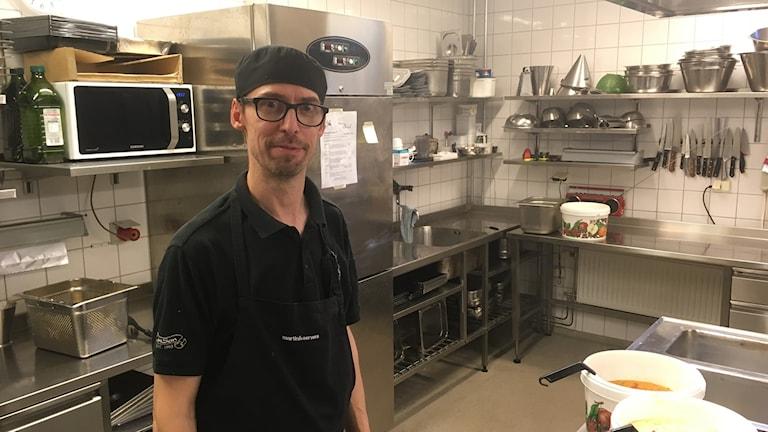Bård Grüner driver restaurang Karl i Halmstad och är en av de som anslutit sig till appen.