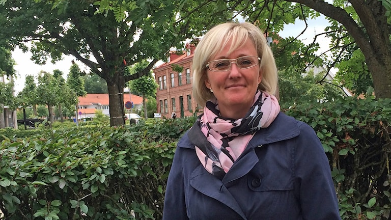 Elisabet Babic (M) om turbulensen inom Laholmsmoderaterna.