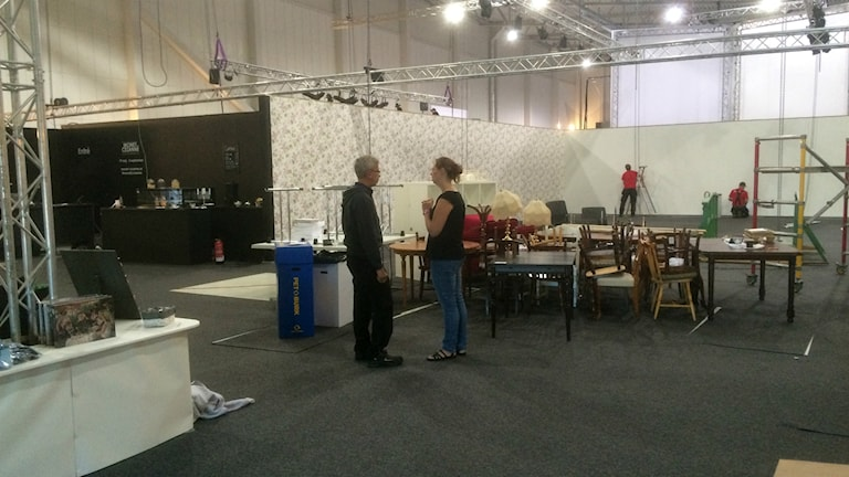 Nu plockas utställningen från Monet till Cézanne ner i Halmstad arena.