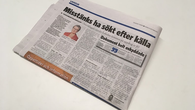Laholms Tidning.