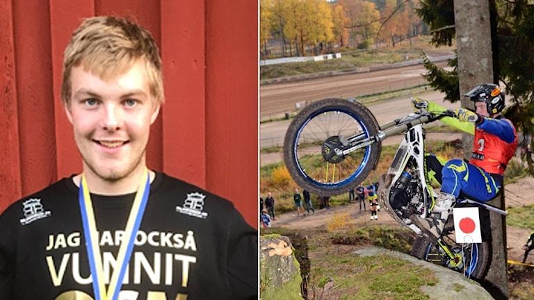 Eddie Karlsson vann sitt åttonde raka SM-guld i trial. Foto: Privat