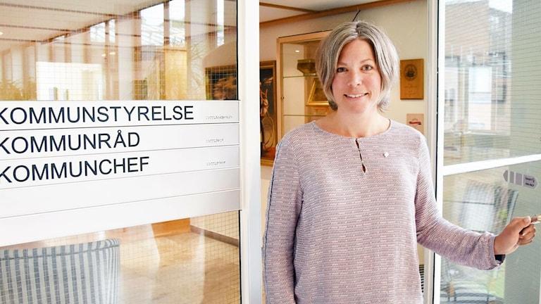 Jenny Axelsson, centerpartistiskt kommunråd i Halmstad