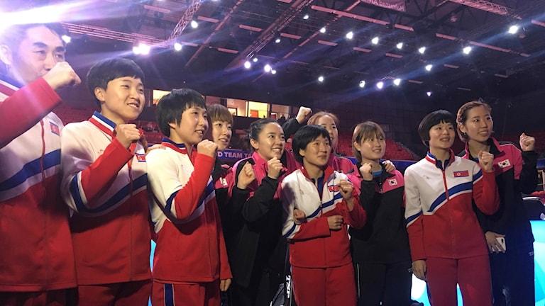 Nordkorea och Sydkorea går ihop och spelar semifinal tillsammans.