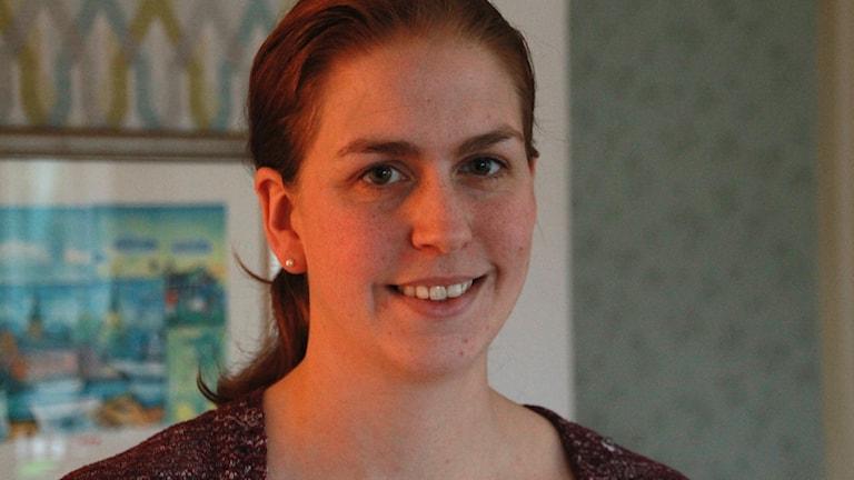 Madeleine Bagge, gruppledare för Miljöpartiet i Varberg.