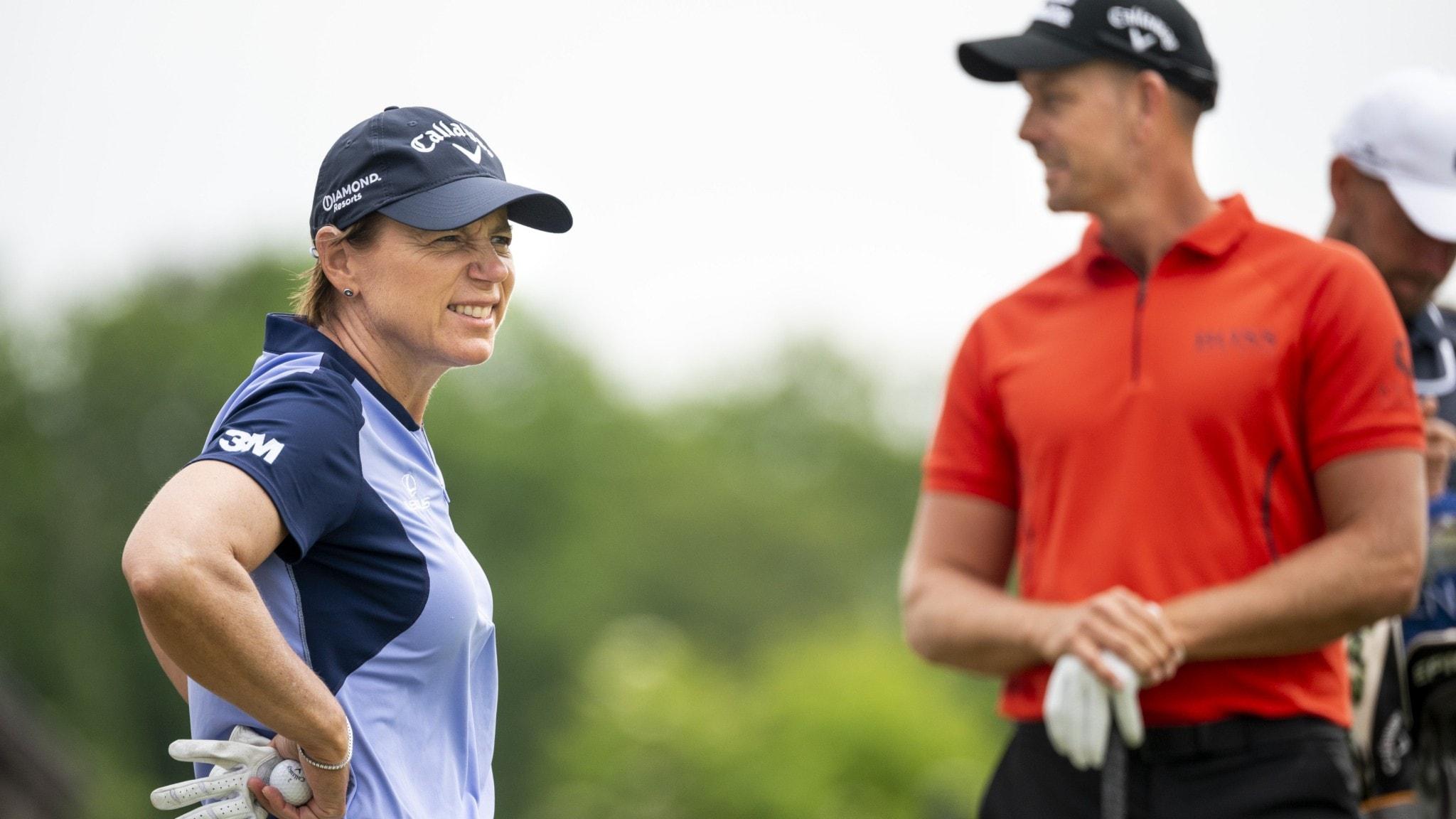 Damer och herrar gör upp i golfturnering i Halmstad 2022