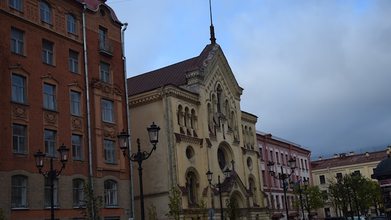 Katarinakyrkan i St Petersburg.