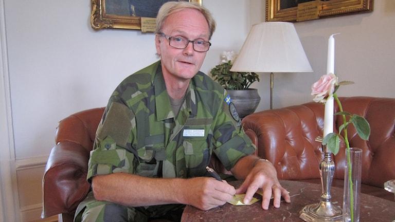 Thomas Andersson på Försvarsmakten.