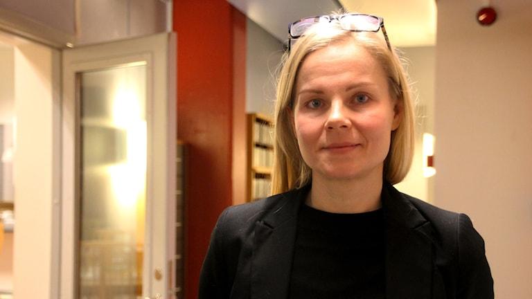 Hanna Glans, jämställdhetsexpert