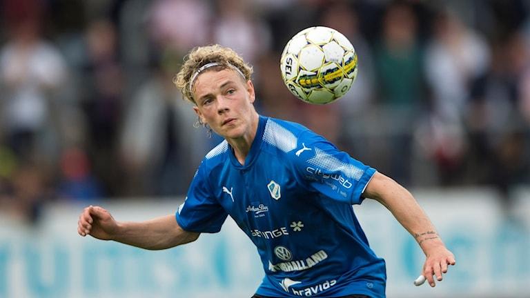 HBK-spelaren Höskuldur Gunnlaugsson.