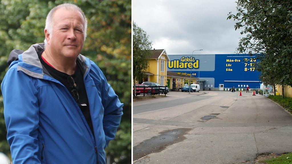 Anders Ramberg är Miljö- och hälsoskyddschef i Falkenbergs kommun. och Gekås och Ullareds handelsområde.