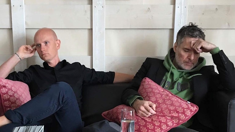 Jonny Dufwa Andersson och Thorsten Flinck.