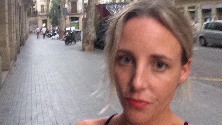 Elin Lindekrantz från Falkenberg bor i Barcelona