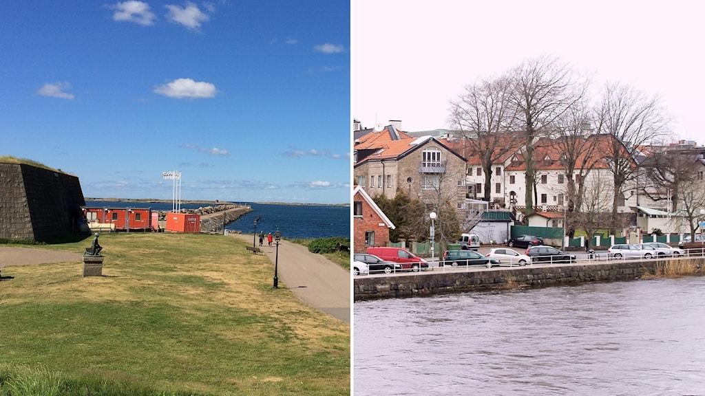 Falkenberg eller Varberg - vilken stad är vackrast?