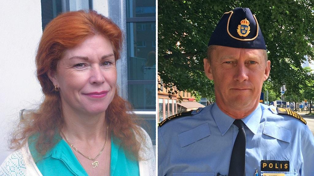 Katharina von Sydow, från polisfacket, tycker att valet av Klas Friberg som Säpochef var bra.