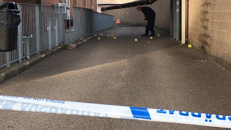 Mordförsök Kattegattgymnasiet