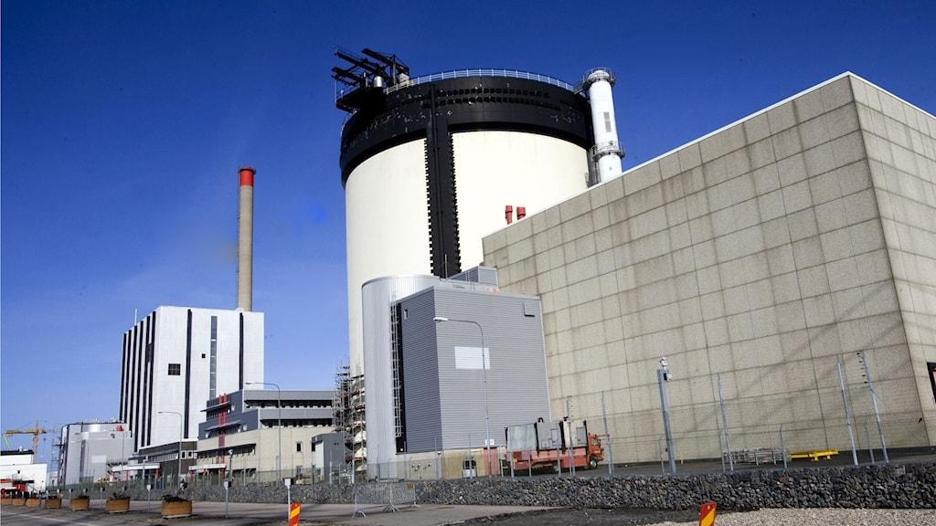 Ringhals kärnkraftverk i Varberg.