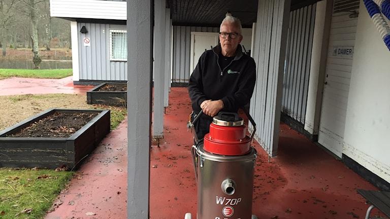Christer Svensson, ansvarig för Flammabadet.