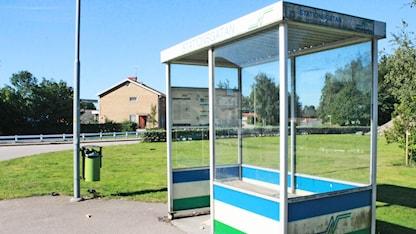 Hallandstrafiken busskur