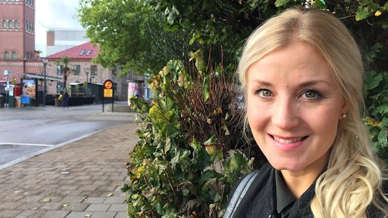 Musikalstjärnan Emmi Christensson.