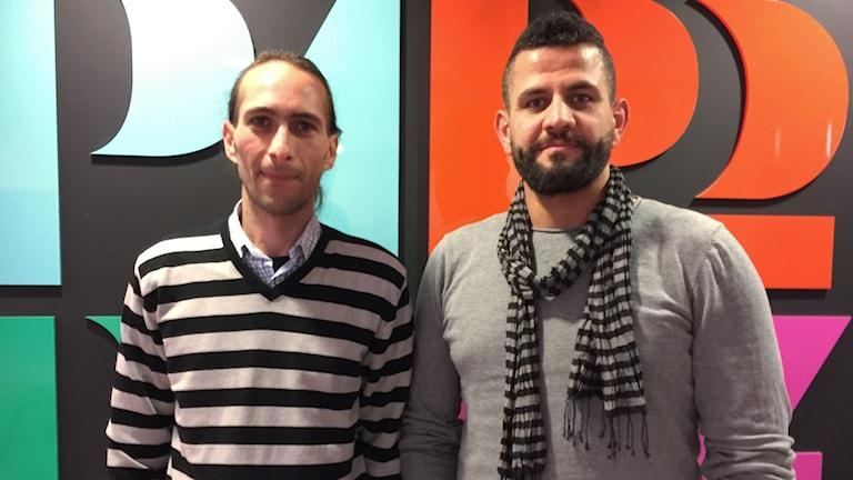 Feras Aldamen och Nidal Al Fashtaki
