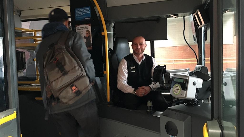 Lirim Osmani busschaufför