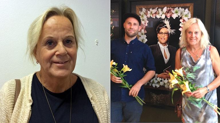Kamilla Petersson om sonen Jesper Molins utställning.