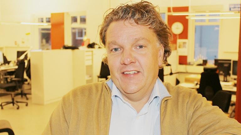 Mikael Kahlin, socialnämndens ordförande i Laholm.