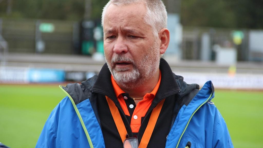 Ordförande Johan Johqvist.