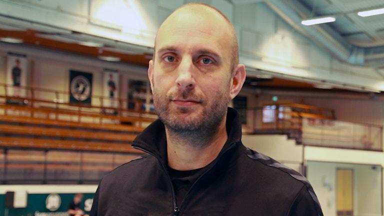 Hans Karlsson, handbollstränare i HK Varberg