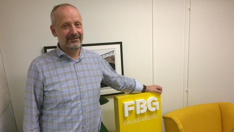 Fredrik Janson, VD på Destination Falkenberg