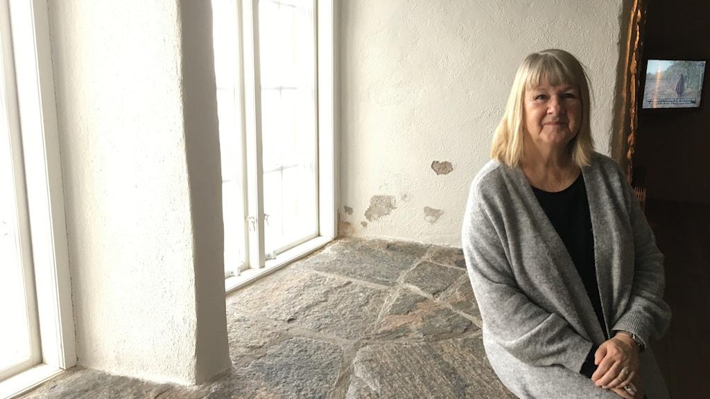 Christina Andersson-Wiking som är förste antikvarie på Hallands kulturhistoriska muséum