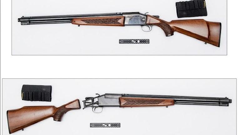 Bild på gevär.