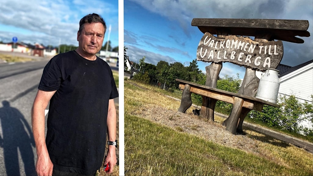 Robert Hallring arbetar i Vallberga där skottlossningen ägde rum.