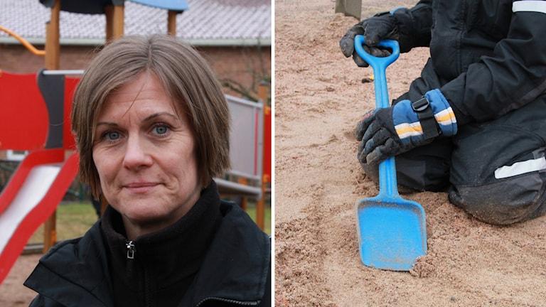 Susanne Elveroth Aronsson är förskollärare på Västanvinden