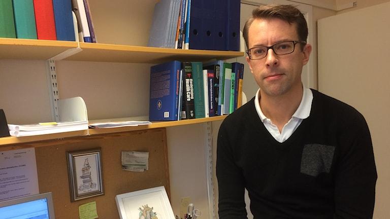 Markus Lingman jobbar med högskolan i Halmstad i ett nytt projekt.