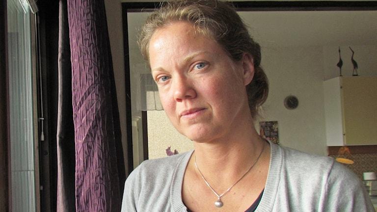 Sara Larsson, som har arbetat på ett LSS-boende, men valde att sluta.